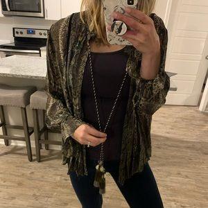 NWOT Zara Blouse